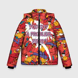 Куртка зимняя для мальчика ЯГО цвета 3D-черный — фото 1