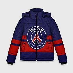 Куртка зимняя для мальчика PSG цвета 3D-черный — фото 1
