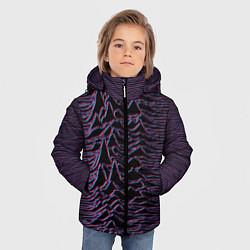 Куртка зимняя для мальчика Joy Division Glitch цвета 3D-черный — фото 2