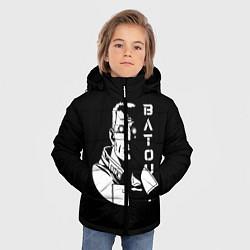 Куртка зимняя для мальчика Бато цвета 3D-черный — фото 2