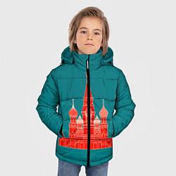 Куртка зимняя для мальчика Москва цвета 3D-черный — фото 2
