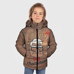 Куртка зимняя для мальчика Carl Fredricksen цвета 3D-черный — фото 2