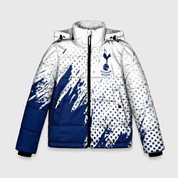 Куртка зимняя для мальчика Tottenham Hotspur цвета 3D-черный — фото 1