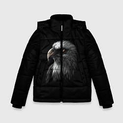 Куртка зимняя для мальчика Орлан цвета 3D-черный — фото 1
