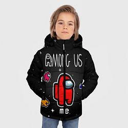 Куртка зимняя для мальчика Among us Classic цвета 3D-черный — фото 2