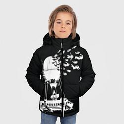 Куртка зимняя для мальчика FORTNITE цвета 3D-черный — фото 2