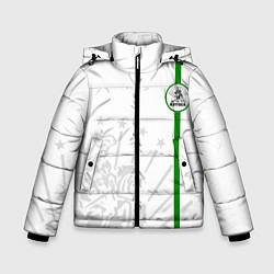 Куртка зимняя для мальчика Адыгея моя цвета 3D-черный — фото 1