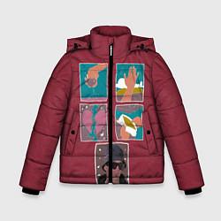 Куртка зимняя для мальчика SLAVA MARLOW Снова я напиваюсь - фото 1