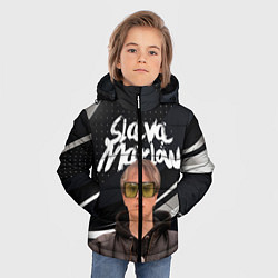 Куртка зимняя для мальчика SLAVA MARLOW АРТЁМ ГОТЛИБ - фото 2