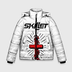 Куртка зимняя для мальчика SKILLET цвета 3D-черный — фото 1