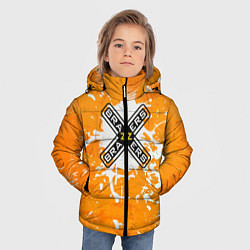 Детская зимняя куртка для мальчика с принтом Brazzers, цвет: 3D-черный, артикул: 10278877106063 — фото 2