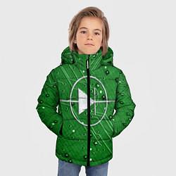 Детская зимняя куртка для мальчика с принтом Печатная плата и диод, цвет: 3D-черный, артикул: 10279647306063 — фото 2