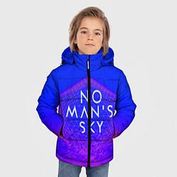 Куртка зимняя для мальчика NO MANS SKY цвета 3D-черный — фото 2