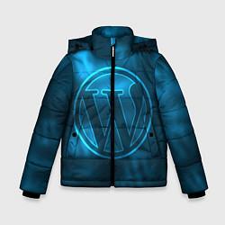 Куртка зимняя для мальчика Вордпресс цвета 3D-черный — фото 1
