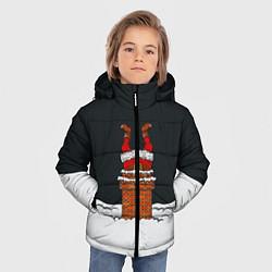 Куртка зимняя для мальчика С Новым Годом! цвета 3D-черный — фото 2