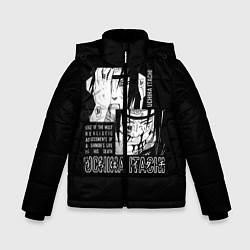 Куртка зимняя для мальчика Uchiha Itachi цвета 3D-черный — фото 1