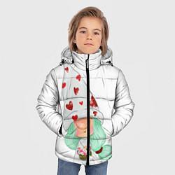 Куртка зимняя для мальчика Гномик цвета 3D-черный — фото 2