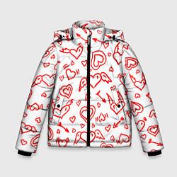 Куртка зимняя для мальчика Love flight цвета 3D-черный — фото 1