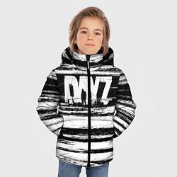 Детская зимняя куртка для мальчика с принтом DayZ, цвет: 3D-черный, артикул: 10287262706063 — фото 2