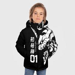 Куртка зимняя для мальчика Eves Rage цвета 3D-черный — фото 2