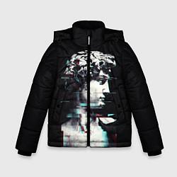 Куртка зимняя для мальчика David Glitch цвета 3D-черный — фото 1