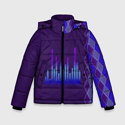 Куртка зимняя для мальчика Эквалайзер цвета 3D-черный — фото 1
