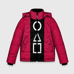 Куртка зимняя для мальчика Ojingeo geim - Стражи цвета 3D-черный — фото 1