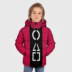 Куртка зимняя для мальчика Ojingeo geim - Стражи цвета 3D-черный — фото 2