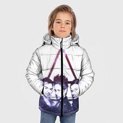 Детская зимняя куртка для мальчика с принтом 30 seconds to mars, цвет: 3D-черный, артикул: 10063909106063 — фото 2