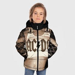 Куртка зимняя для мальчика AC/DC Girl цвета 3D-черный — фото 2