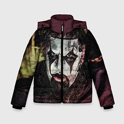 Куртка зимняя для мальчика Slipknot Face цвета 3D-черный — фото 1