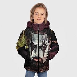 Детская зимняя куртка для мальчика с принтом Slipknot Face, цвет: 3D-черный, артикул: 10064258606063 — фото 2