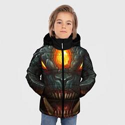 Детская зимняя куртка для мальчика с принтом Roshan Rage, цвет: 3D-черный, артикул: 10064261006063 — фото 2