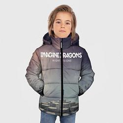 Куртка зимняя для мальчика Imagine Dragons: Night Visions цвета 3D-черный — фото 2