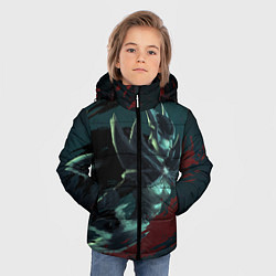 Куртка зимняя для мальчика Phantom Assassin цвета 3D-черный — фото 2