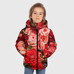 Куртка зимняя для мальчика Ассорти из цветов цвета 3D-черный — фото 2