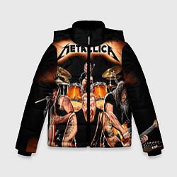 Куртка зимняя для мальчика Metallica Band - фото 1