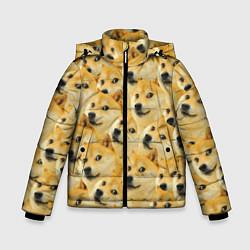 Куртка зимняя для мальчика Doge цвета 3D-черный — фото 1