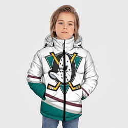 Куртка зимняя для мальчика Anaheim Ducks Selanne цвета 3D-черный — фото 2