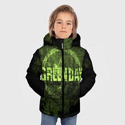 Куртка зимняя для мальчика Green Day: Acid Voltage цвета 3D-черный — фото 2