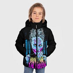 Куртка зимняя для мальчика BMTH: Acid Girl цвета 3D-черный — фото 2