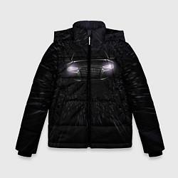 Куртка зимняя для мальчика Audi цвета 3D-черный — фото 1