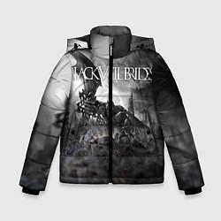 Куртка зимняя для мальчика Black Veil Brides: Faithless цвета 3D-черный — фото 1