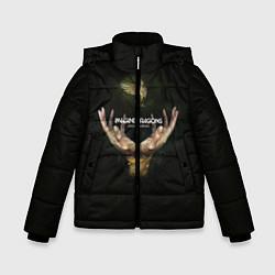 Детская зимняя куртка для мальчика с принтом Imagine Dragons: Smoke + Mirrors, цвет: 3D-черный, артикул: 10078925306063 — фото 1