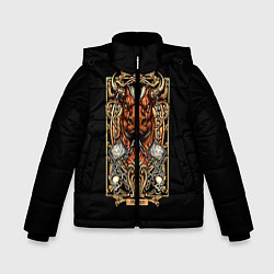 Куртка зимняя для мальчика Телец цвета 3D-черный — фото 1
