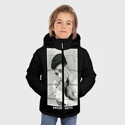 Куртка зимняя для мальчика Arturo Gatti: Photo цвета 3D-черный — фото 2