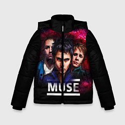 Куртка зимняя для мальчика Muse Band - фото 1