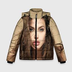 Куртка зимняя для мальчика Анжелина Джоли цвета 3D-черный — фото 1