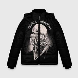 Детская зимняя куртка для мальчика с принтом Black Sabbath: Acid Cosmic, цвет: 3D-черный, артикул: 10087840406063 — фото 1