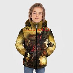 Куртка зимняя для мальчика Dark Souls: Braveheart цвета 3D-черный — фото 2